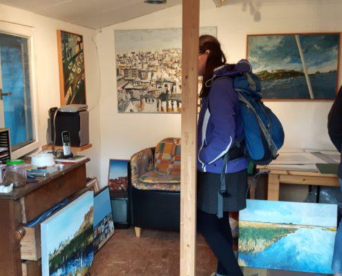 Ateliertour Sylvia Eilers